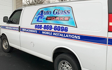 Van Of The Trusted Auto Glass Repair Company In Washington, NJ